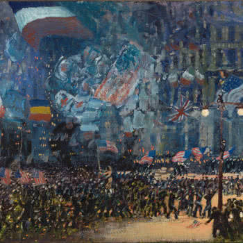 Armistice Night, di George Luks